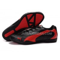 Mens Puma Future Cat 0118 Black Red 格安特別
