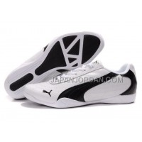Mens Puma Future Cat 0118 White Black 格安特別