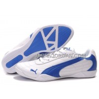 Mens Puma Future Cat 0118 White Blue 格安特別