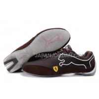 Mens Puma Future Cat 103 Brown Chocolate Grey 格安特別