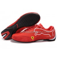Mens Puma Future Cat 103 Red White Black 格安特別