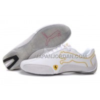 Mens Puma Future Cat 103 White Grey 格安特別