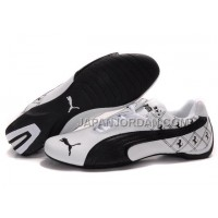 Mens Puma Future Cat 601 White Black 格安特別