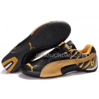 オンライン Mens Puma Future Cat 602 Black Golden