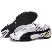 Mens Puma Future Cat 602 White Black 格安特別