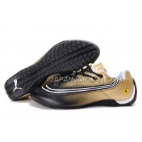 オンライン Mens Puma Future Cat 825 Golden Black White