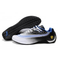 オンライン Mens Puma Future Cat 825 White Black Blue