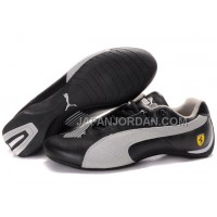 オンライン Mens Puma Future Cat Big Ferrari Black Grey