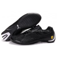 オンライン Mens Puma Future Cat GT Ferrari Black White