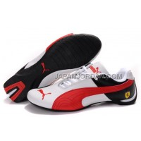 オンライン Mens Puma Future Cat GT Ferrari Black White Red