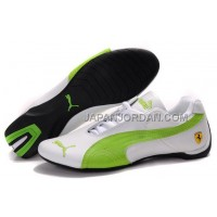 オンライン Mens Puma Future Cat GT Ferrari Green White Black