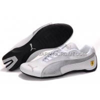 Mens Puma Future Cat GT Ferrari Grey White 格安特別