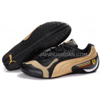 Mens Puma Future Cat Low 829 Black Golden 格安特別