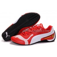 Mens Puma Future Cat Low 829 Red White Black 格安特別