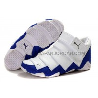 格安特別 Mens Puma Mummy High Shoes White Blue