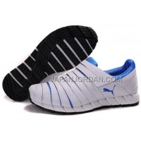 格安特別 Mens Puma Mummy II White Blue