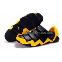 格安特別 Mens Puma Mummy Low Shoes Black Yellow