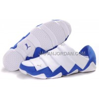 格安特別 Mens Puma Mummy Low Shoes White Blue