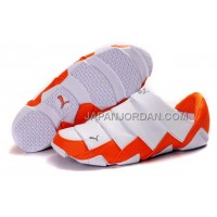 格安特別 Mens Puma Mummy Low Shoes White Orange