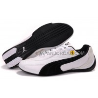 格安特別 Mens Puma Pace Cat 691 White Black