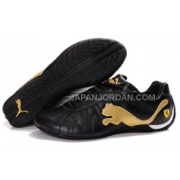 割引販売 Mens Puma Speed Cat Big Black Golden