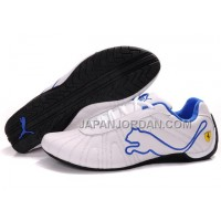 割引販売 Mens Puma Speed Cat Big White Blue Black