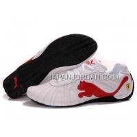 割引販売 Mens Puma Speed Cat Big White Red