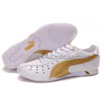 割引販売 Mens Puma Sprint 2 Lux Nm White Golden