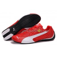 オンライン Mens Puma Wheelspin Red White Black