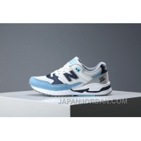 New Balance 530SD White Blue Pig Leather Women/men 2017 New Copuon Code