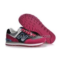 New Balance 574 Mens Black Grey Red 割引販売