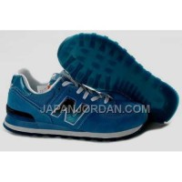 割引販売 New Balance 574 Mens Royalblue White Black