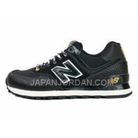 New Balance 574 Womens Black Golden ホット販売
