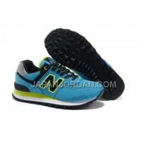 New Balance 574 Womens Blue Black ホット販売