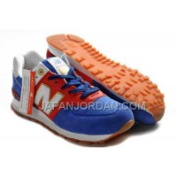 New Balance 574 Womens Blue Red White ホット販売