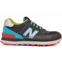 New Balance 574 Womens Grey Blue White ホット販売