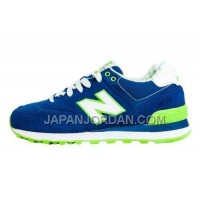 New Balance 574 Womens Light Green Blue ホット販売