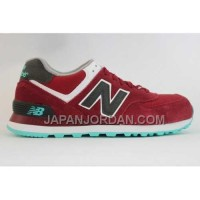 New Balance 574 Womens Wine Red Grey ホット販売