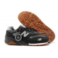 New Balance 580 Mens Suede Dark Grey White ホット販売
