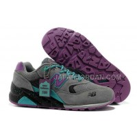 New Balance 580 Suede Mens Grey Purple New Green ホット販売