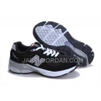割引販売 New Balance 990 Mens Black Grey White