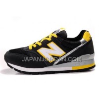 割引販売 New Balance 996 Mens Black Yellow Grey White Shoes