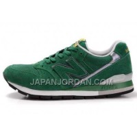 割引販売 New Balance 996 Mens Green White