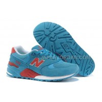 New Balance 999 Womens Blue Team Red ホット販売