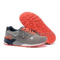 New Balance 999 Womens Grey Total Orange ホット販売