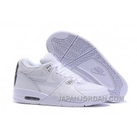 Nike Air Flight '89 White/White-White Shoes Lastest