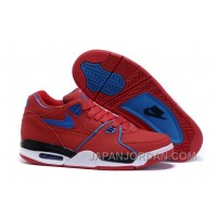 Nike Air Flight '89 University Red/Game Royal Sports Basketball Shoes Authentic