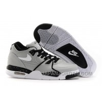 Nike Air Flight '89 Wolf Grey/Black-White Shoes New Release