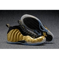 "2018 Nike Air Foamposite One ""Metallic Gold"" Discount"
