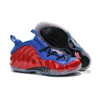 Nike Air Foamposite One Red Blue For Sale Lastest